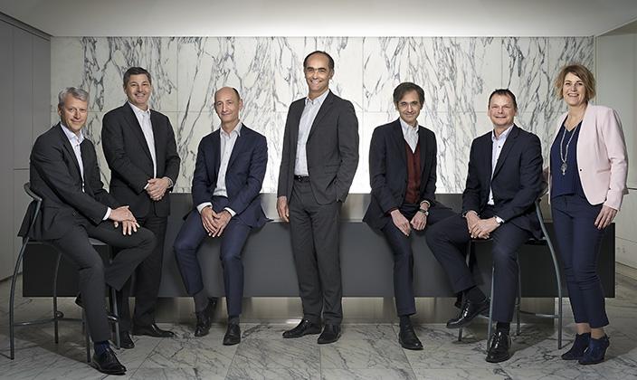 Givaudan's Executive Committee