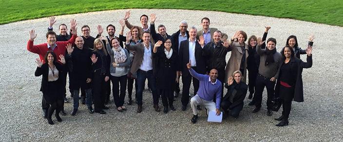 Participants Leadership Senses programme