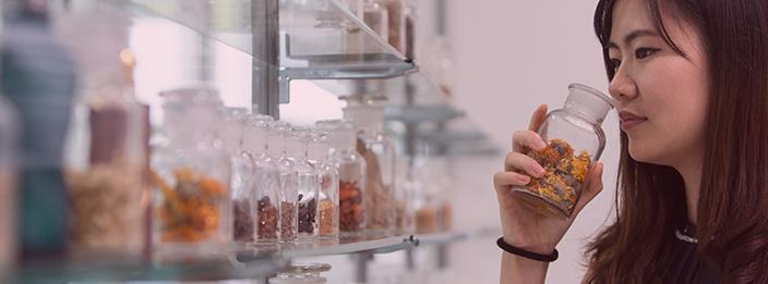 Perfumery student