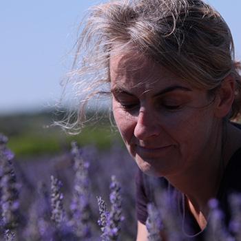 Nathalie, senior perfumer