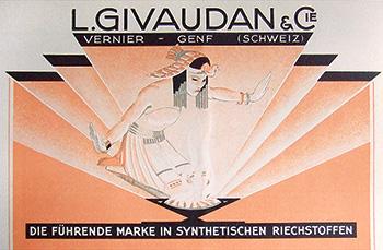 Givaudan & Cie advertisement, 1930s